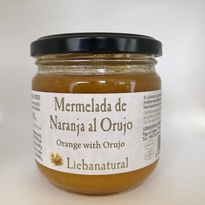 Mermelada de naranja al orujo